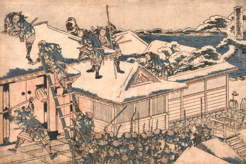 47Ronin1024px-HokusaiChushingura